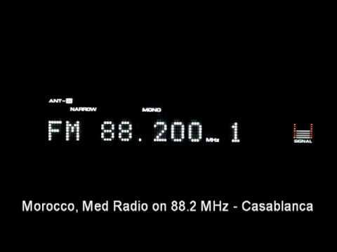 FM DX : Morocco:  Med RAdio on 88.2 MHz - Casablanca
