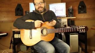 Como Afinar una Guitarra Clasica