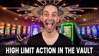 💥 $25/Spin 🔑 HIGH LIMIT Action in The Vault at San Manuel