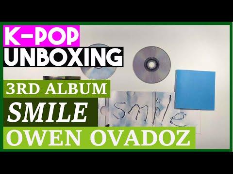 Download Unboxing Owen Ovadoz Smile 3rd album hip hop Kpop Unboxing  케이팝 언박싱 오왼 오바도즈 Mp4 baru