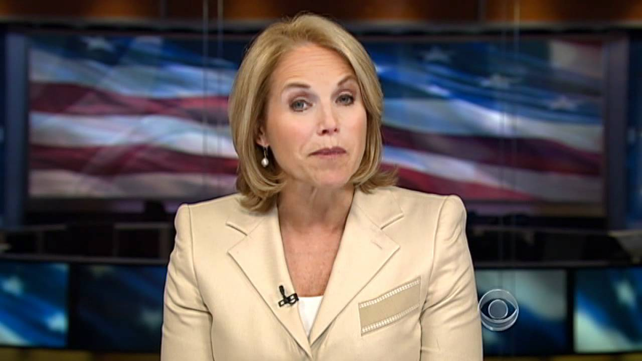 katie couric leaving cbs evening news youtube
