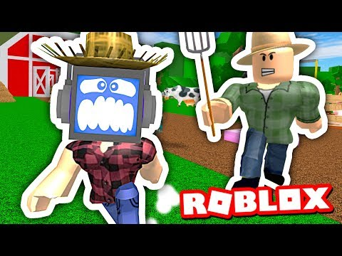 ESCAPE THE EVIL FARM OBBY (in Roblox) ► Fandroid the Musical Robot!