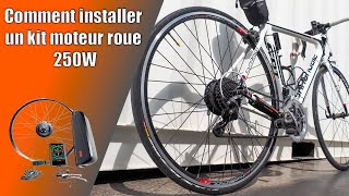 Comment installer un kit moteur 250W OZO sur son vélo - How to install your ebikes conversion kit
