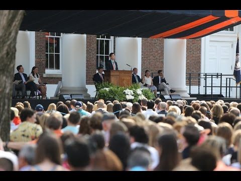 Celebration and Song at UVA's 2015 Valediction
