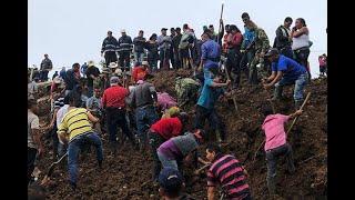 Tragedia en Rosas, Cauca, por alud que dejó al menos 15 muertos