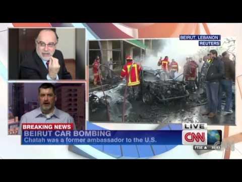 Beirut car bomb kills 5, injures dozens