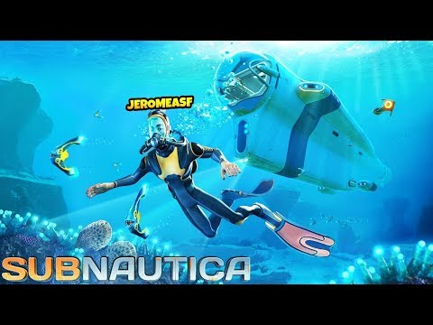 WHAT IS THAT HORRIFYING MONSTER - Subnautica #2