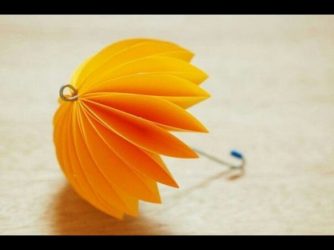 Diy Paper Crafts For Kids How To Make Beautiful Umbrella Tutorial