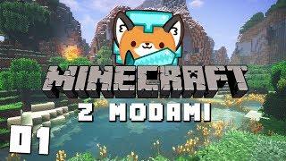 Zaczynamy PRZYGODĘ z MODAMI! || Minecraft z Modami #01 - Na żywo