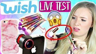 WISH HAUL & LIVE TEST! Werbung vs. Realität! besser als Amazon und Ebay?!