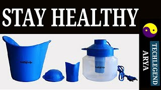 VAPORIZER STEAM INHALER (Healthgenie) UNBIASED REVIEW
