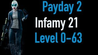 Payday 2 Infamy 21 | Part 1 | Level 0-63 | Xbox One