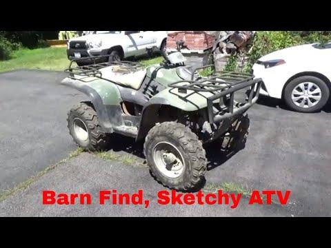 Barn Find Linhai ATV, $300 Craigslist deal, Originally a