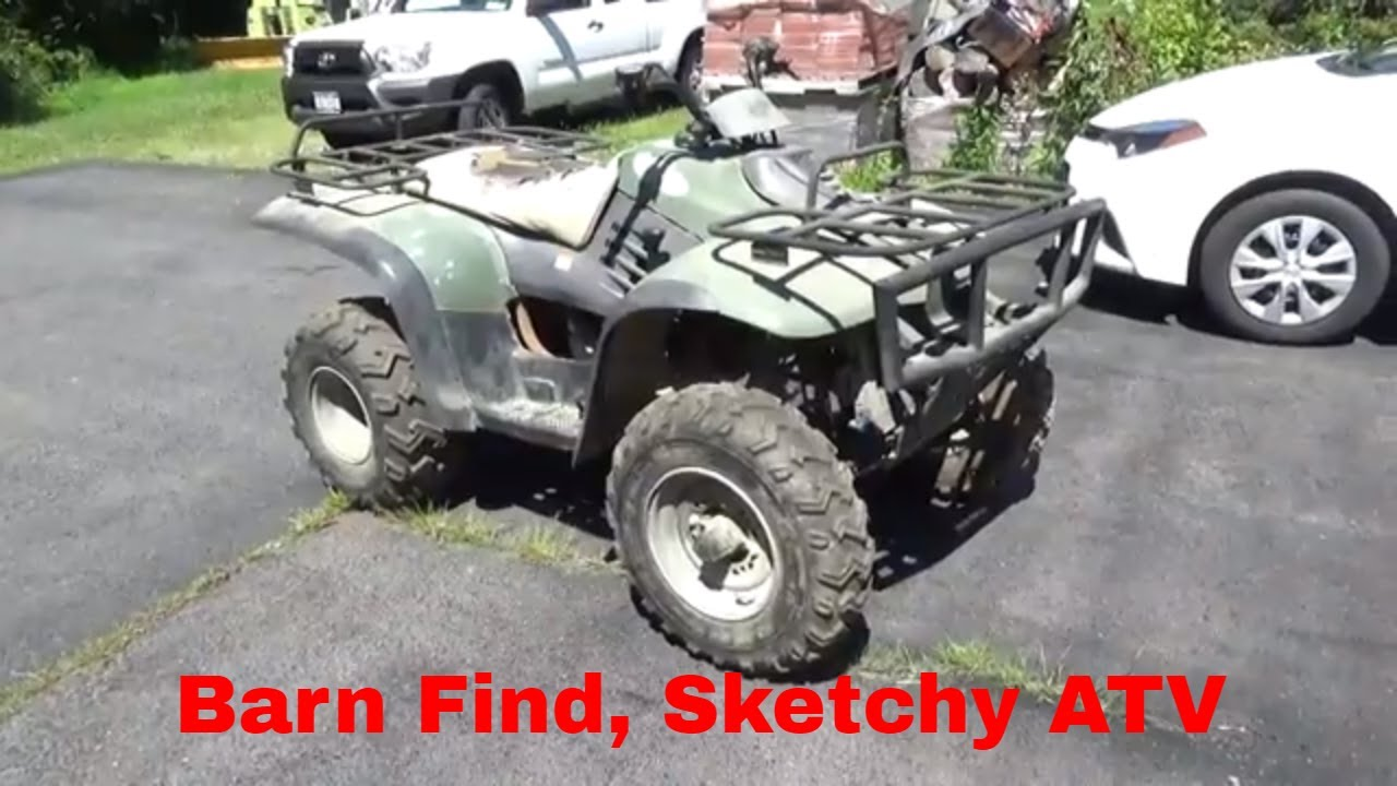 Barn Find Linhai Atv 300 Craigslist Deal Originally A Tractor