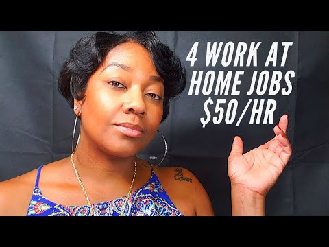 4 Site That Pay Up To $50 Per Hour (Work At Home) #MakeMoneyOnline