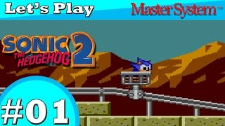 Let's Play Sonic the Hedgehog 2 (Master System) - Part 1