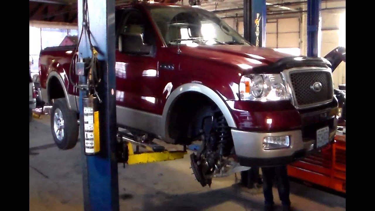 STL Diesel Presents 2004 Ford F150 Install Rough Country Lift Kit Time ...
