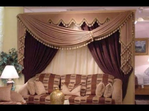 how to make swags and tails curtains(large swag )