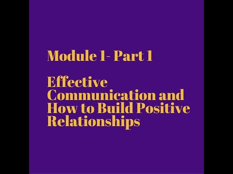 understand the principles of developing positive relationships Understand the principles of developing positive relationships with children, young people and adults effective communication is important in order to build positive relationships , we should always check how we approach and respond to other people as we are more likely to have better relationships if we communicate well with one another.