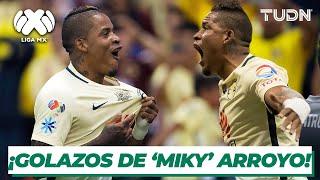 ¡Letales! Los golazos de 'Miky' Arroyo con América | TUDN