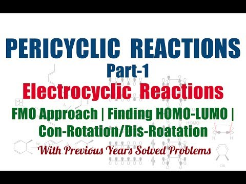 Pericyclic Reactions: A Mechanistic and Problem-Solving Approach