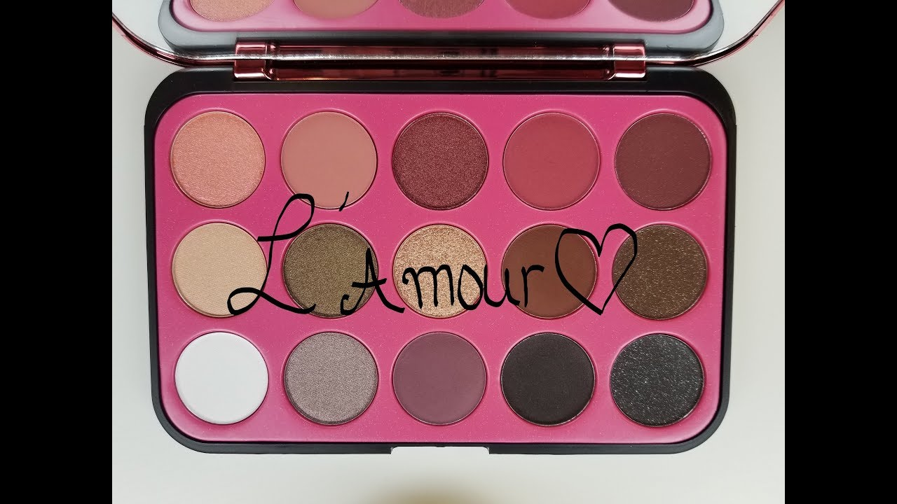 Bhcosmetics L Amour Glam Reflections Palette Demo Review Valentine S Day Look