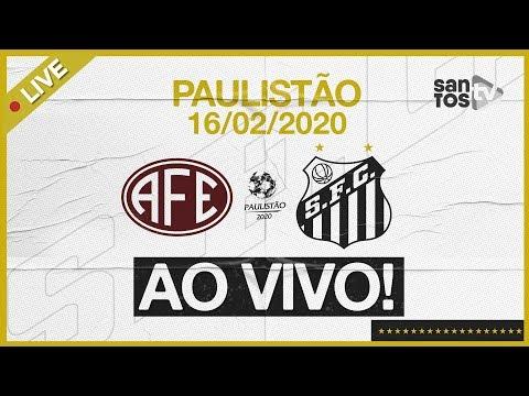 AO VIVO: FERROVIÁRIA 0 x 0 SANTOS | PRÉ-JOGO E NARRAÇÃO | PAULISTÃO (16/02/20)