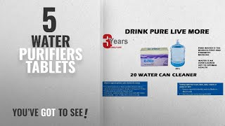 Top 10 Water Purifiers Tablets [2018]: Ef-Chlor, Water Purification Tablets, Purifies 2000 Liters
