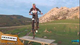 test de la olympia bicicleta mtb iron race x1