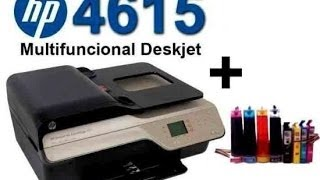 Smart-Ken: CISS Hp 4615 Prueba de impresión.