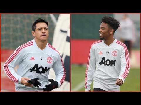Manchester United Players Training Ahead of Premier League Match vs Bournemouth!