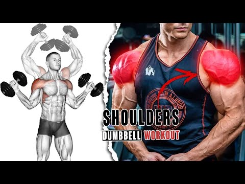 Best Dumbbell Shoulders Exercices Workout At Home