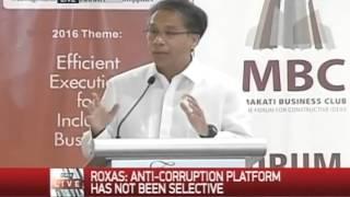 2016 MBC-MAP Presidential Dialogues | Mar Roxas