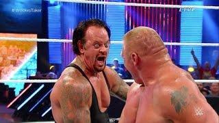 WWE Brock Lesnar Vs The Undertaker FULL MATCH Summerslam 2015