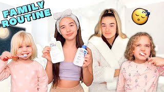 NEW FAMILY NIGHT TIME ROUTINE! 😴 *KIDS DON'T HAVE A BED TIME