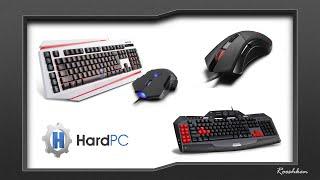 HardPC - Testy marki Delux (zwiastun klawiatury x2 myszki x2)