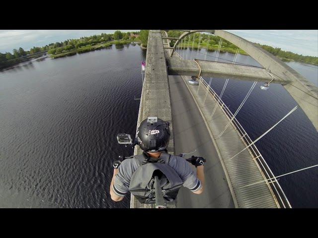 GoPro: Epic Bridge Riding