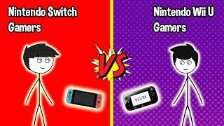 Gambar cover Nintendo Switch Gamers VS  Wii U Gamers