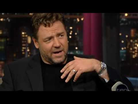 1 Russell Crowe Letterman