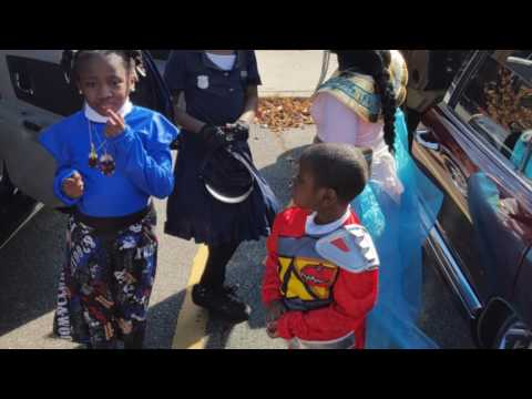 Classic Riderz participate in Trunk /Treat Paterson,NJ Community Center 2015