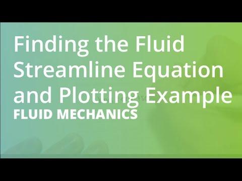 Finding the Fluid Streamline Equation and Plotting Example | Fluid Mechanics