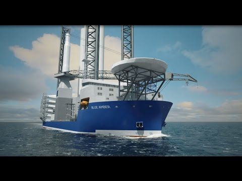 Wind Turbine Installation Vessel BLUE AMBER