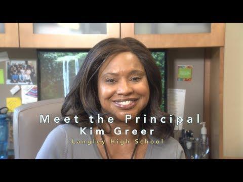 Meet the Principal of Langley High School