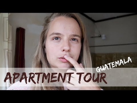 apartment tour Antigua Guatemala.