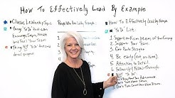 How to Effectively Lead By Example - Project Management Training