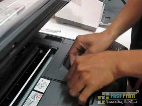 TUTORIAL MEMBONGKAR PRINTER BROTHER DCP J125