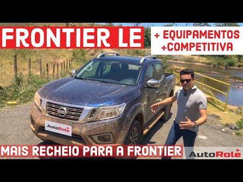 Nissan Frontier LE: mais equipamentos parar encarar a concorrência