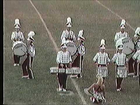 Owasso High School Band at Pryor, Oklahoma 1990