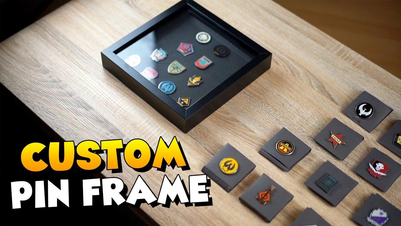 Großzügig Picture Frame Pins Bilder - Benutzerdefinierte ...