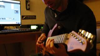 david overjero jamming with a cbg backing track